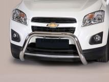 Big Bar U Chevrolet Trax 2013+ Inox 76MM S/ EC