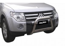 Big Bar U Mitsubihi Pajero 2007+ Stainless Steel W/O EC