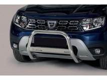 Big Bar U Dacia Duster 2018+ Stainless Steel W/O EC