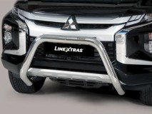 Big Bar U Inox 76Mm Mitsubishi L200 2019 C / Ece