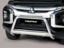 Big Bar U Inox 63Mm Mitsubishi L200 2019 C / Ece