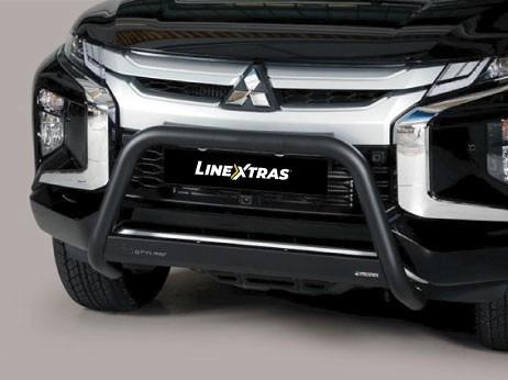 [48.ML7 26/P/E] Big Bar U Black 63Mm Mitsubishi L200 2019 C / Ece