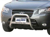 Big Bar U C / Leg Inox Hyundai Santa Fe 2006
