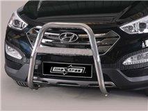 U Grill C / Leg Inox Hyundai Santa Fe 2012