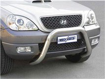 Big Bar U Stainless 76Mm Hyundai Terracan 04/2005