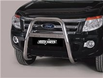 2012 Mazda Bt-50 U Grill With Leg Stainless Steel