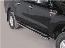 Big Bar U C / Leg Inox Mazda Bt-50 2012 C / Ece