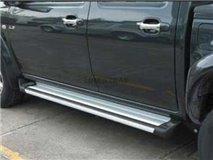 Aluminum stirrups Origin 4P. Isuzu D-Max 2007