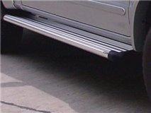 Aluminum stirrups 4P. Isuzu D-Max 2007