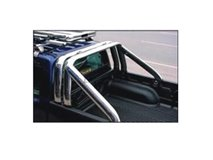 Double Oval Stainless Roll-Bar Isuzu D-Max 2007