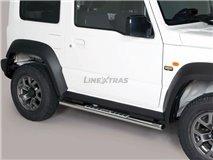 Stainless Stirrups w / Aluminum Plate. Suzuki Jimny