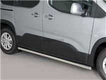 Peugeot Rifter 2018 Tubular Stainless Stirrups