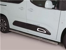 Stainless Stirrups w / Aluminum Plate Citroen Berlingo 18