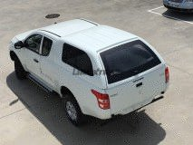 Hard-Top Fiat Fullback Extended Cab W/ Windows Linextras (Gel White)