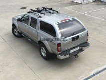 Hard-Top Nissan Navara D22 02-05 W/ Windows Linextras (Gel White)