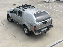 Hard-Top Nissan Navara D22 02-05 W/O Windows Linextras (Gel White)