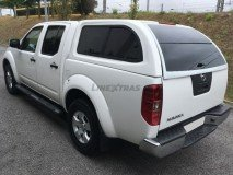 Hard-Top Nissan Navara D40 W/ Windows Linextras (Gel White)