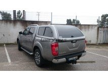 Hard-Top Nissan Navara NP300 D23 W/ Windows Linextras (Gel White)