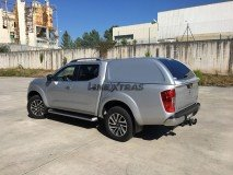 Hard-Top Nissan Navara NP300 D23 W/O Windows Linextras (Gel White)
