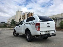 Hard-Top Ford Ranger Freestyle Cab 12-16 W/ Windows Linextras (Gel White)