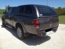 Hard-Top Mitsubishi L200 10-14 Club Cab W/ Windows Linextras (Gel White)