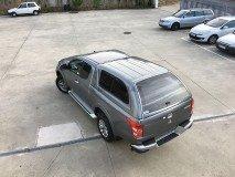Hard-Top Mitsubishi L200 2015+ Club Cab W/ Windows Linextras (Gel White)