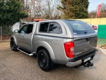Hard-Top Nissan Navara NP300 D23 King Cab W/ Windows Linextras (Gel White)