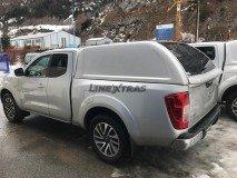 Hard-Top Nissan Navara NP300 King Cab D23 W/O Windows Linextras (Gel White)
