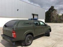 Hard-Top Toyota Hilux DC W/O Windows 06-16 Linextras (Gel White)