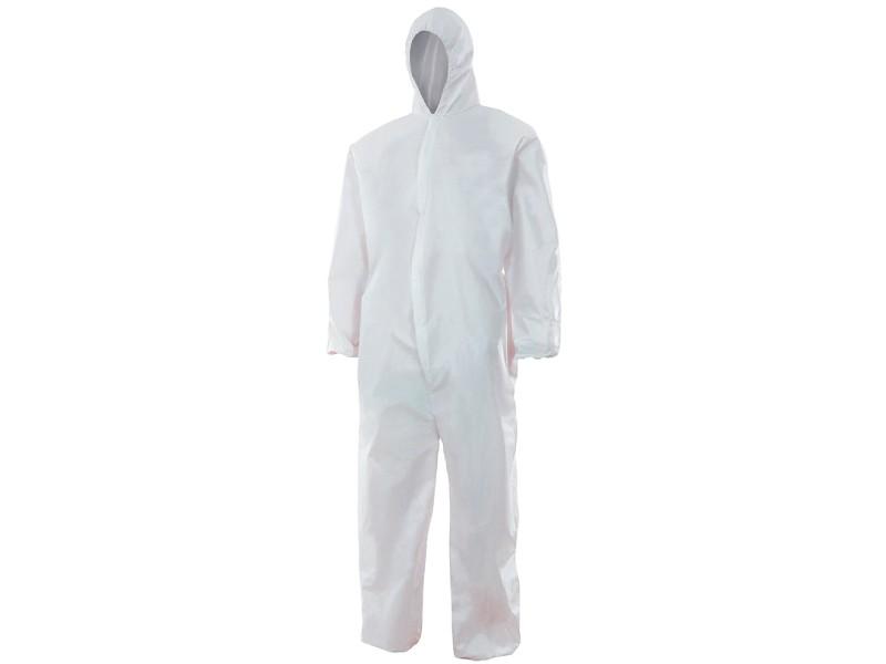 Disposable Jumpsuit Tam-L White Type 5/6