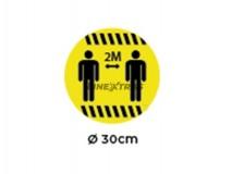 """Sticker O30Cm """"2M"""""""