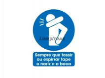 """Sticker 25X30Cm """"Whenever You Cough Or Spy ..."""""""