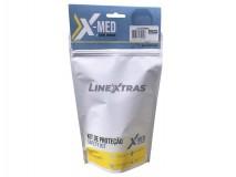 Kit Emergencia 1xMasc + 4xToal + 1xSpray + 1xLuvas