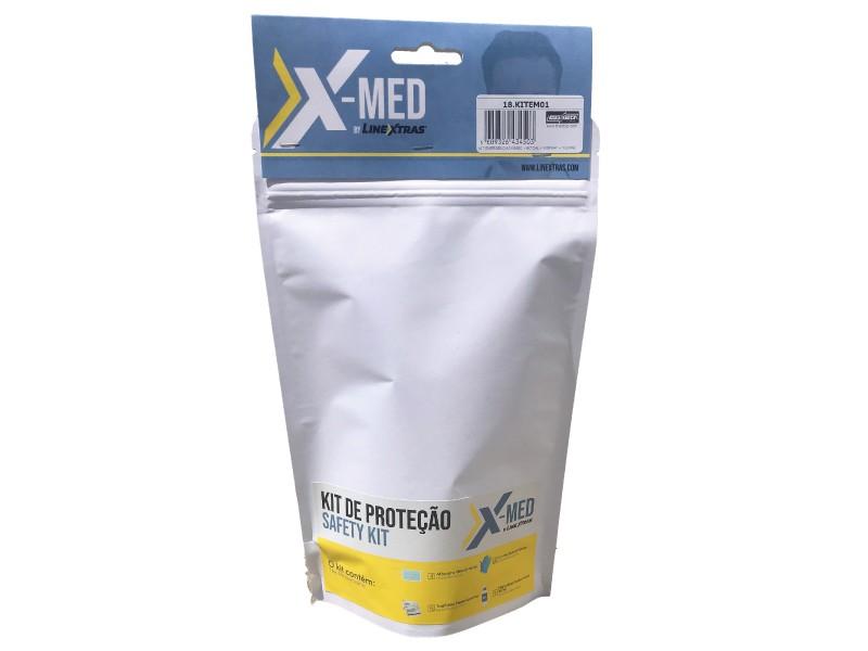 [18.KITEM02] Emergency Kit 2xMask + 4xToal + 1xSpray