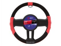 Sparco Sport Line Red Steering Wheel Cover