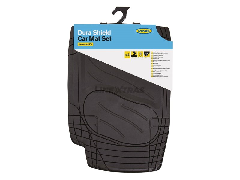 [17.RMAT13] Carpets Dura Shield 2000 Black Kit 4
