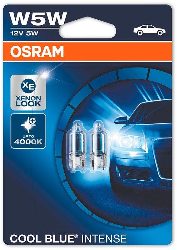 [06.2825HCBI-02B] Lamps T10 Osram W2.1X9.5D 5W 12V (Bl2)