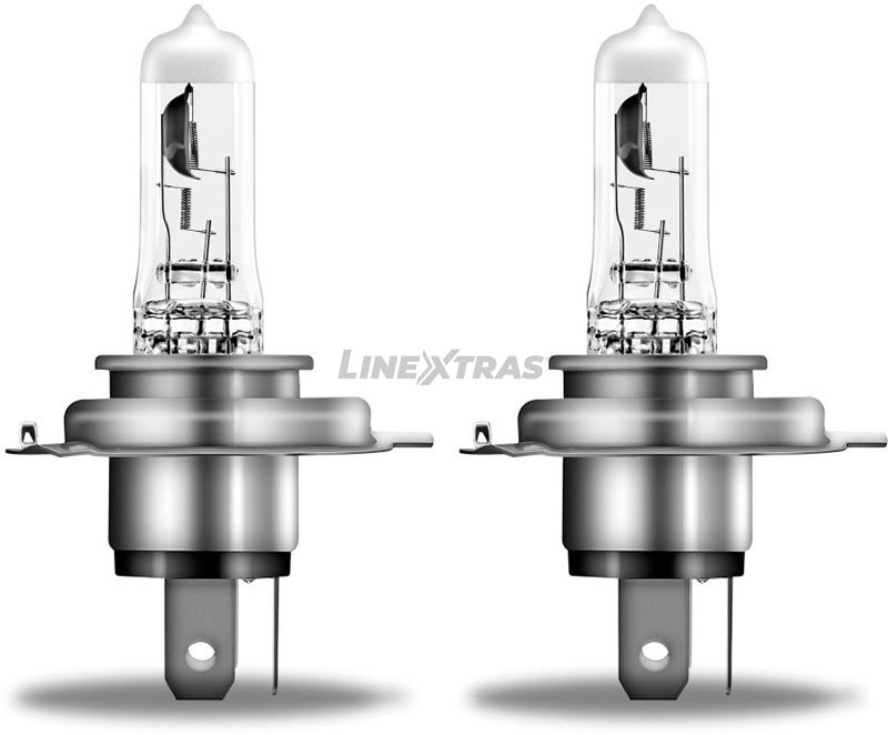 Lamps H4 Osram Night Breaker Silver (Cx2)