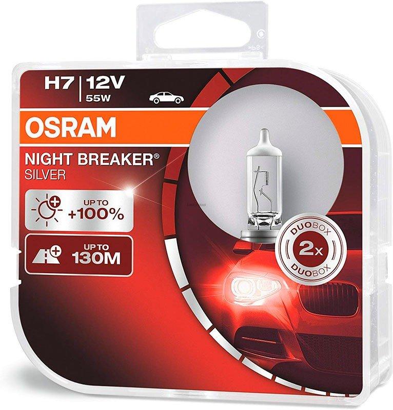 [06.64210NBS-HCB] Lamps H7 Osram Night Breaker Silver (Cx2)