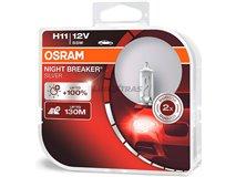 Lamps H11 Osram Night Breaker Silver (Cx2)