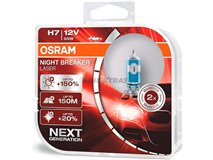 Lamps H7 Osram Night Brk L Next G (Cx2)