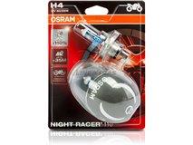 H4 Osram Night Rac110 60 / 55W 12V Lamps (Bl 2)