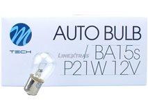Lampada Ba15S 12V 21W S25
