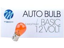 Lampada Bau15S 21W 12V Ambar  (Polo Descentrado)