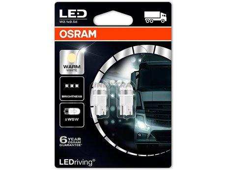 Lamps T10 Osram Ledriving 1W 24V 4000K (Bl 2)