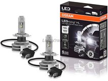 H4 Osram Ledriving Hl 12 / 24V 6000K Cool W Lamps
