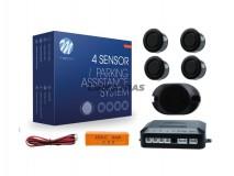 Kit 4 parking sensors 18mm PR S/DISP