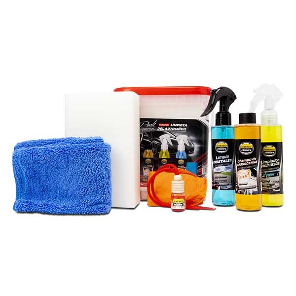 [04.ZABC12501] Total 7 in 1 Auto Cleaning Kit
