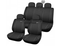 Complete Car Seat Covers Diablo Black / grey