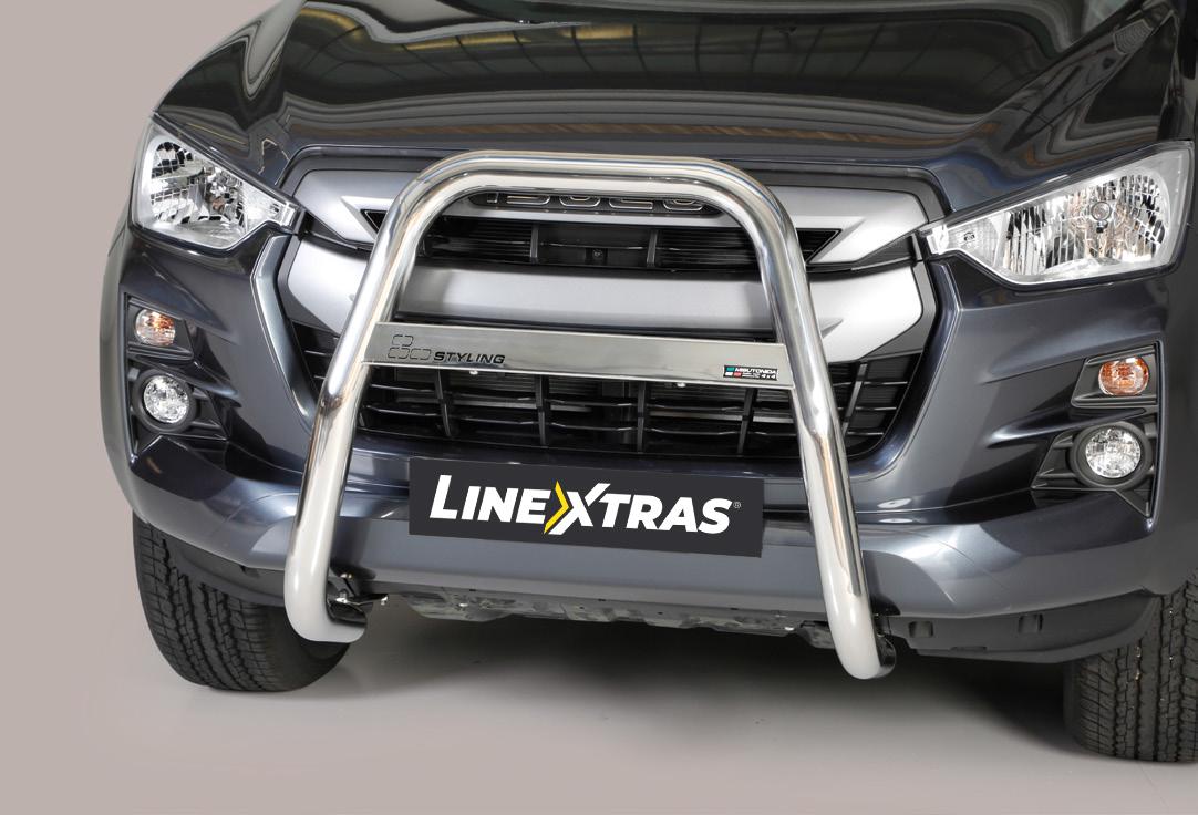 [50.OC5 01/I] BIG BAR U S.STEEL ISUZU D-MAX 2020